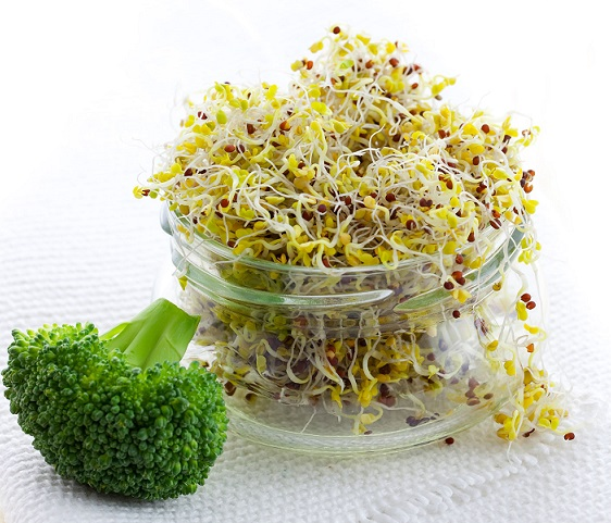 Fruit and Veggie Detox- Broccoli Sprouts