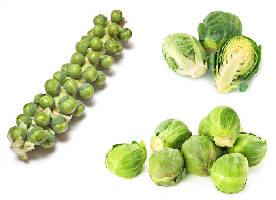 Fruit and Veggie Detox - Brussels-Sprout