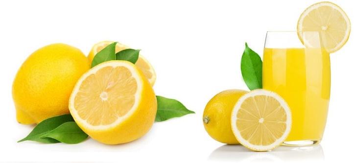 Fruit and Veggie Detox - Lemon