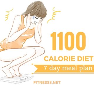 1100 calorie diet 7 day meal plan