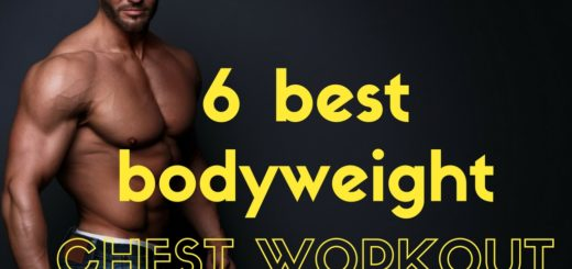 6 best bodyweight chest workout