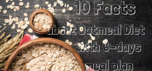 10 facts about Oatmeal Diet with 6 days meal plan