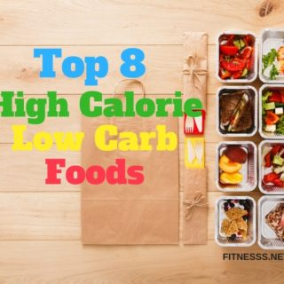 High calorie low carbs foods