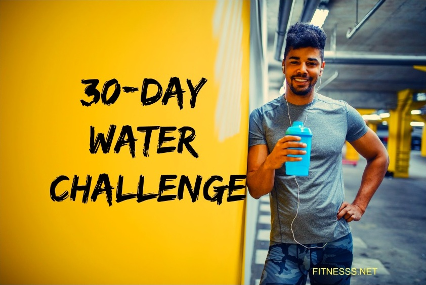 30-day water challenge